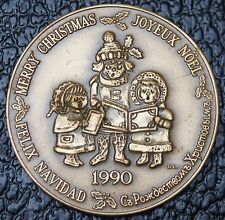 1990 MERRY CHRISTMAS-JOYEUX NOEL-FELIX NAVIDAD - GORD NICHOLS - MEDAL - NCC