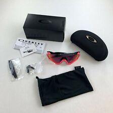 Oakley Flight Jacket Neon Pink / Polished Black Prizm Road Sunglasses New in Box