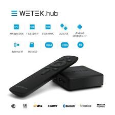 WeTek HUB Wireless 4K UHD Android & LibreELE TV Box with Bluetooth & FREE UK P&P