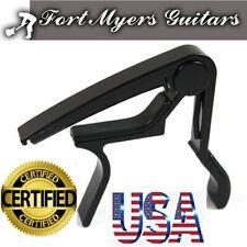Us Guitar Capo Trigger Quick Change Key Clamp Ukulele Mandolin Acoustic Electric
