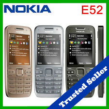 ~ ORIGINAL ~ Nokia E52 Mobile Cell Phone Package   Unlocked   6 Month Warranty