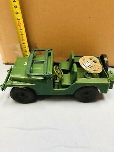JEEP ANNI '70 IN PLASTICA MADE IN ITALY VINTAGE PERFECT CONDITIONS