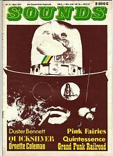 SOUNDS Nr.27 März 1971 Popmusik QUICKSILVER GRAND FUNK RAILROAD TINA TURNER Gut