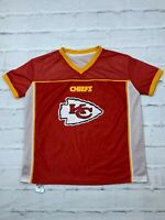 NFL Kansas City Chiefs Reversable Jersey Youth XL Flag USA Football Play 60 Red