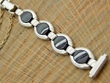 Vintage Unused Butterfly Clasp Watch Band 10mm-13mm Stainless Steel Speidel NOS