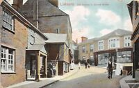 POSTCARD   CORNWALL   LISKEARD   Old  Houses  in  Church  Street