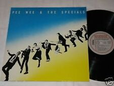 PEE WEE & THE SPECIALS same LP Rockhouse Rec. 1980 BLUES ROCK