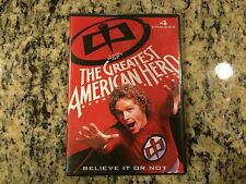 THE BEST OF THE GREATEST AMERICAN HERO OOP NEW SEALED DVD! 1981 4 EPISODES SUPER
