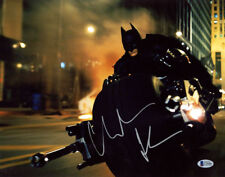 CHRISTIAN BALE SIGNED AUTOGRAPHED 11x14 PHOTO THE DARK KNIGHT BATMAN BECKETT BAS