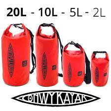 fcb48941c332 CONWY KAYAK Heavy Duty Waterproof Dry Bag 2L 5L 10L 20L Storage Pack Outdoor