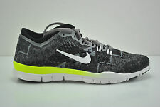 Womens Nike Free 5.0 TR FIT 4 PRT Running Shoes Size 11.5 Black White 629832 008