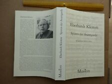 Eberhardt Klemm, Spuren der Avantgarde, Schriften 1955-1991. Edition MusikTexte,