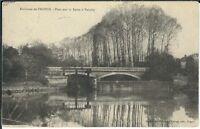 Ansichtskarte Umgebung Troyes - Brücke über die Seine in Fouchy - 1910 - s/w