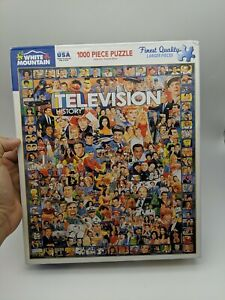 White Mountain Television History1000 Piece Jigsaw Puzzle #10312 complete