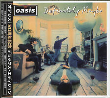 OASIS-DEFINITELY MAYBE-JAPAN 3 MINI LP CD+BOOK BONUS TRACK Ltd/Ed J50