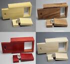 ODM customized DIY logo Natural Wooden model usb 2.0 memory stick pen drive