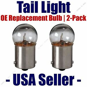 Tail Light Bulb 2pk - OE Replacement Fits Listed Saab Vehicles - 5007