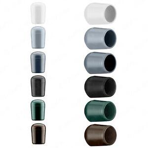 Pfostenkappen Rohrkappen Farbig rund Zaunpfahlkappen Kappen PVC Gewindestopfen