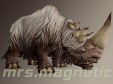 WoW loot - Wooly White Rhino / Weißes Wollrhinozeros - unused!