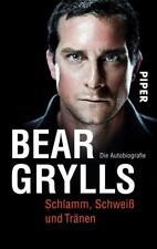 Bear Grylls - Schlamm, Schweiß und Tränen - Die Autobiografie - UNGELESEN