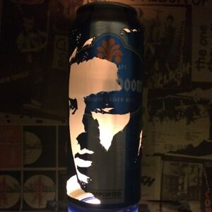 Sergio Aguero Beer Can Lantern! Manchester City Pop Art Lamp, Unique Gift!
