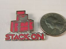 STACK-ON TOOL BOX ADVERTISEMENT PIN