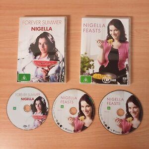 2 x Nigella Lawson DVD's  Nigella Feasts (Double DVD) & Forever Summer Region 4