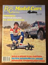 Vintage Radio Control Model Cars Aug1986 Ninth Issue Rody Roem Interview Raco1/4