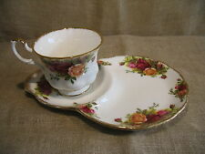 Royal Albert old country roses Tasse & Soucoupe Tennis Set