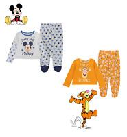 Pyjama 2 pièces  Mickey Mouse ou Tigrou bébé garçon du 0 au 24 mois