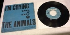 """I'm Crying/Take It Easy"" - The Animals 45 w/Picture Sleeve - 1964 GERMAN"