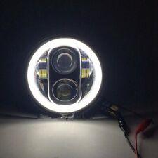 'Neue Typ 5.75 5 3/4 Zoll LED Scheinwerfer Engel Augen für Halo Harley Davidson