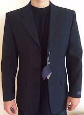 New European Design Black Stripe  Men's Suit , size 36R