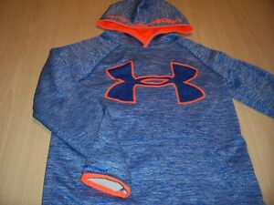 UNDER ARMOUR STORM LOOSE FIT LS BLUE HOODIE BOYS MEDIUM 10-12 EXCELLENT