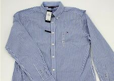 Men's CLASSIC FIT ESSENTIAL STRIPE SHIRT by Tommy Hilfiger