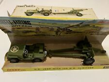 Dinky 615 US Jeep With 105mm Howitzer Model Near Mint