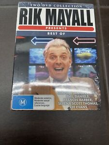RIK MAYALL Presents Best Of 2 DISC -DVD Comedy Series Rare Aus Stock New