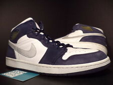 2001 Nike Air Jordan I Retro 1 + WHITE NAVY BLUE SILVER RED BLACK 136065-101 14