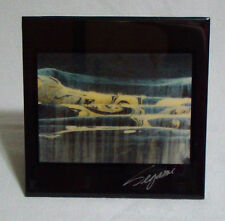 Hand Signed by Artist Segami Tile Art Into Waterfall 1999 Midnight Productions
