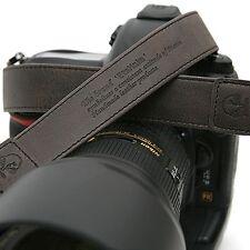 Vintage-30 DGrey SLR Camera Neck Shoulder Leather Strap for Leica Fuji Samsung