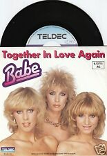 BABE Together In Love Again 45/GER/PIC