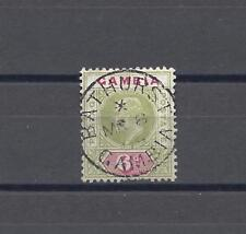 GAMBIA 1904-06 SG 64 USED Cat £70