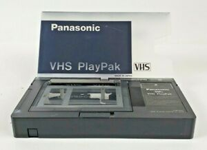 Panasonic VHS PlayPak VHS-C to VHS Motorized Converter / Adapter VYMS0059 Tested