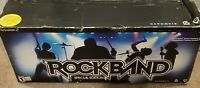 Rockband Special Edition PS3 PS2 Bundle Drums Guitar Dongle Mic Games BOX Tested