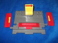 LEGO Eisenbahn 4,5V//12V 4x Grundplatte 6x16 alt hellgrau gebraucht#E49