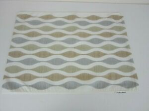"""5 Crate & Barrel Riva Placemats 14"""" x 19"""" each one"""