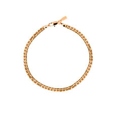 18K Gold Plated Cuban/Curb Chain Anklet / Ankle Bracelet - LIFETIME WARRANTY