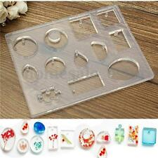 12 Designs Cabochon Silicone Mold Mould For Epoxy Resin Jewelry Making DIY Craft