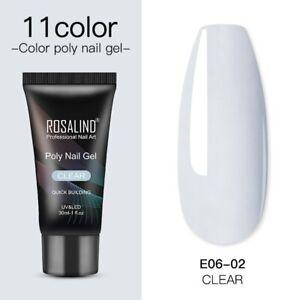 Quick Building UV LED Poly Builder Nail Gel Polish Nail Extension Acrylic Kits