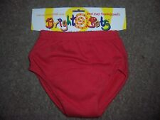 Bright bots training pants Size Large red New